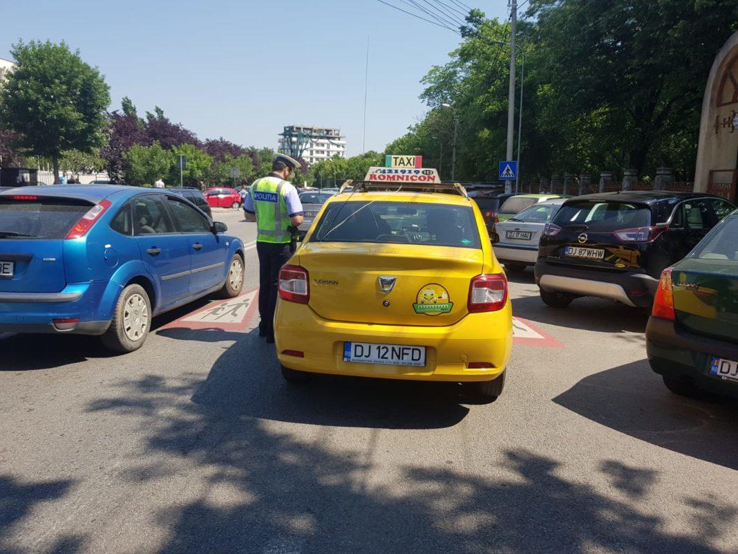 Razie pe șoselele doljene. 10 șoferi au rămas fără permise