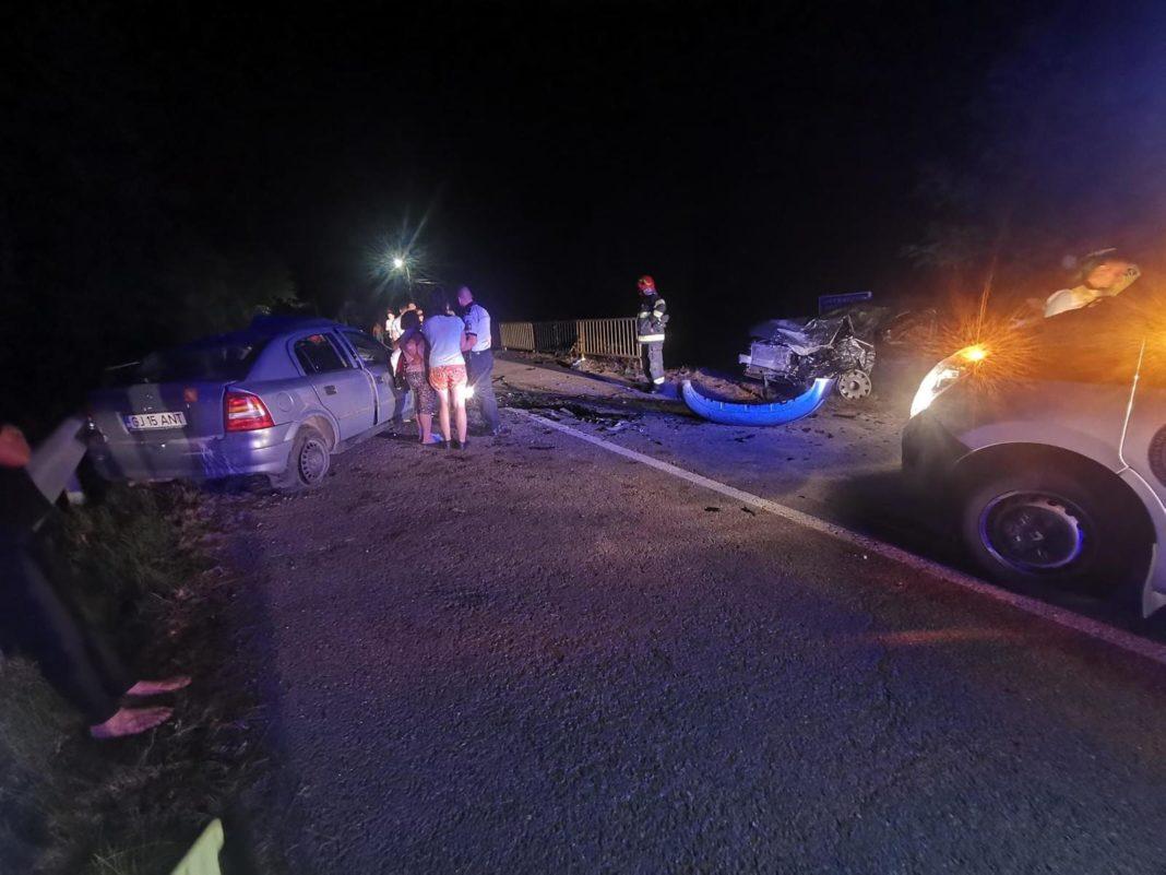 Accident rutier cu patru victime la Bâlta