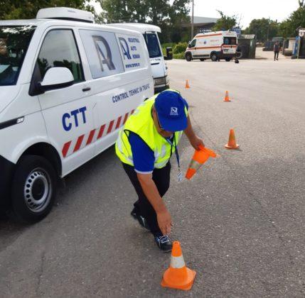 Acțiunile de control au avut ca scop identificarea autovehiculelor cu deficiențe tehnice
