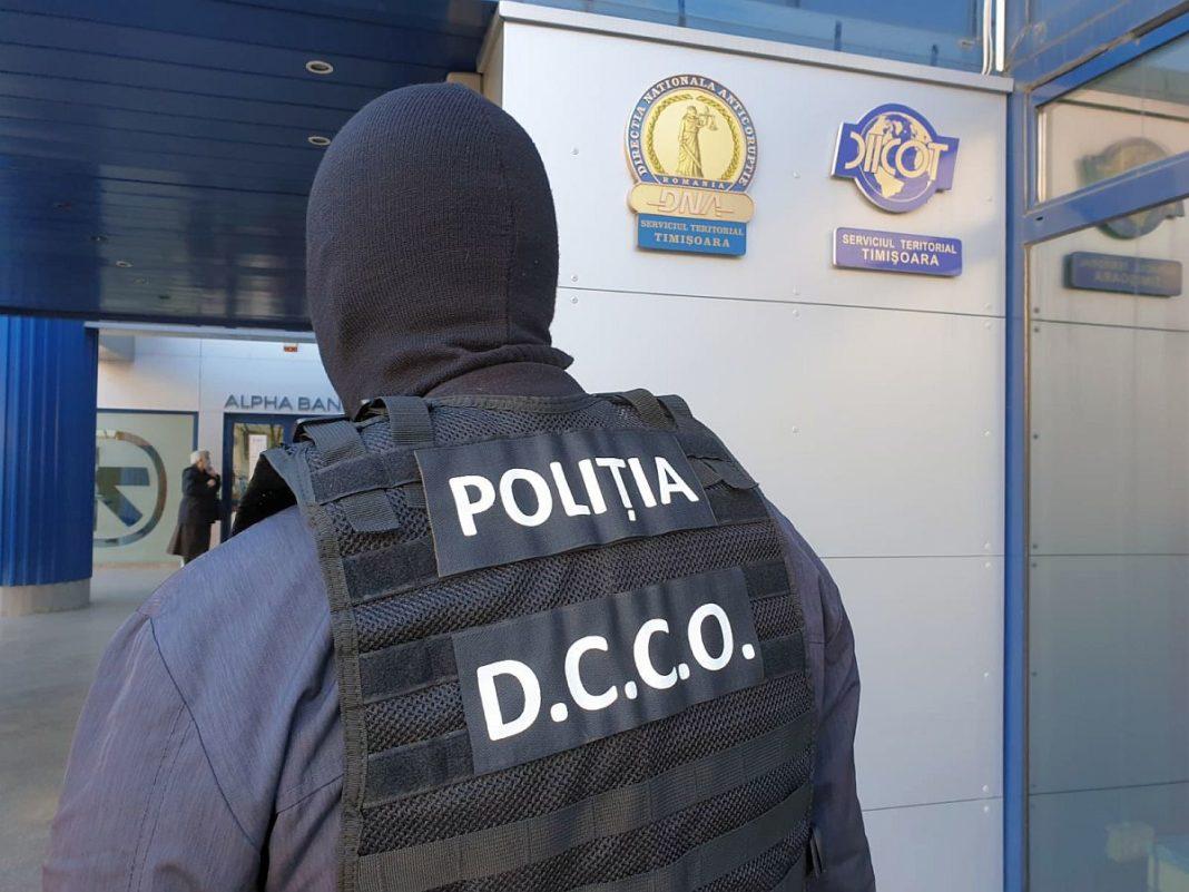 Polițiștii de la Crima Organizată fac verificări la biroul unui executor judecătoresc