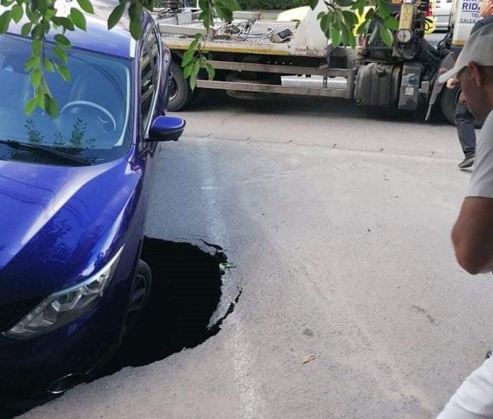 S-a surpat asfaltul sub maşina ta? Rămâi cu paguba până hotărăşte judecătorul