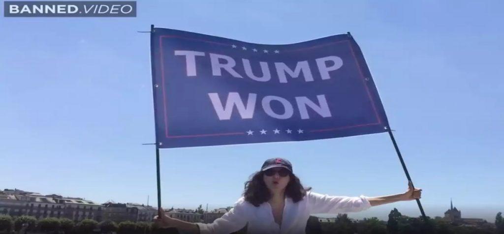 Nepoata lui Osama bin Laden, protest inedit la întâlnirea Biden-Putin