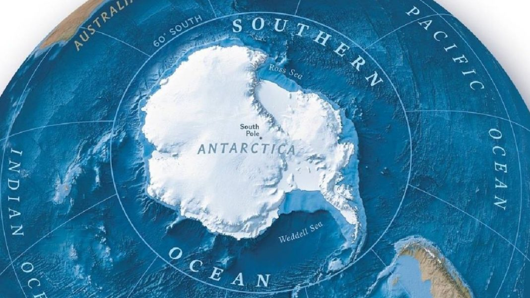 Oceanul Sudic, al cincilea ocean al lumii. A fost recunoscut de National Geographic