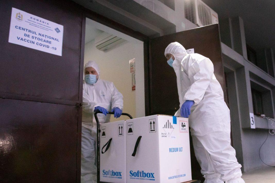 România primește o nouă tranșă de vaccin Pfizer