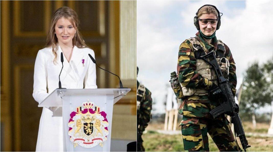 Prințesa Elisabeta a Belgiei, prima femeie din familia regală care studiază la Academia Militară