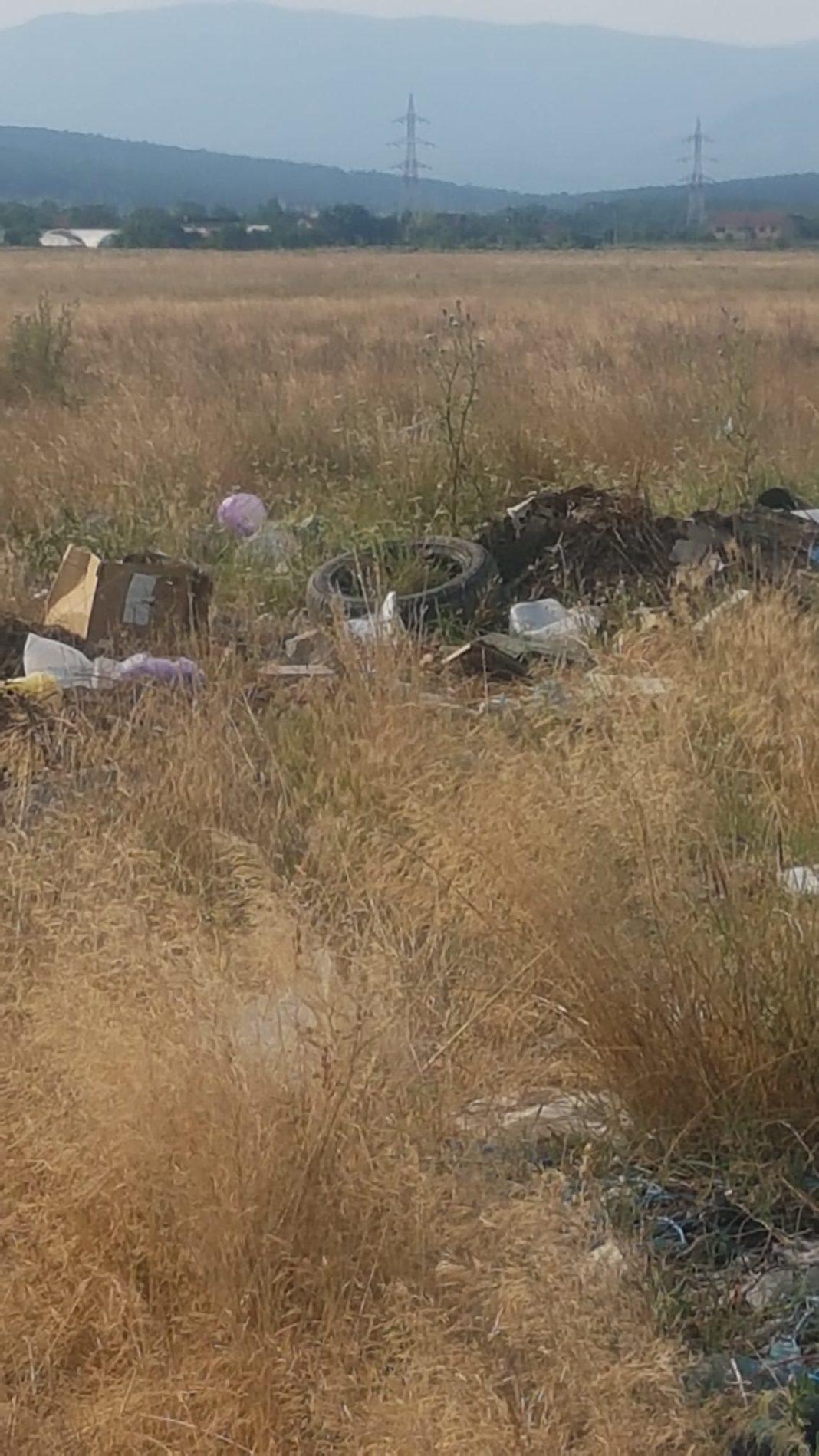 Pânde și dronă pentru prinderea celor care aruncă gunoi