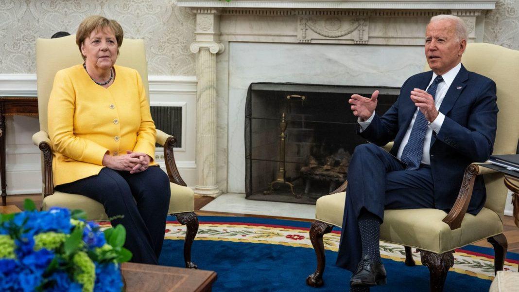 Joe Biden și Angela Merkel promit că vor lucra pentru a se opune agresiunilor Rusiei