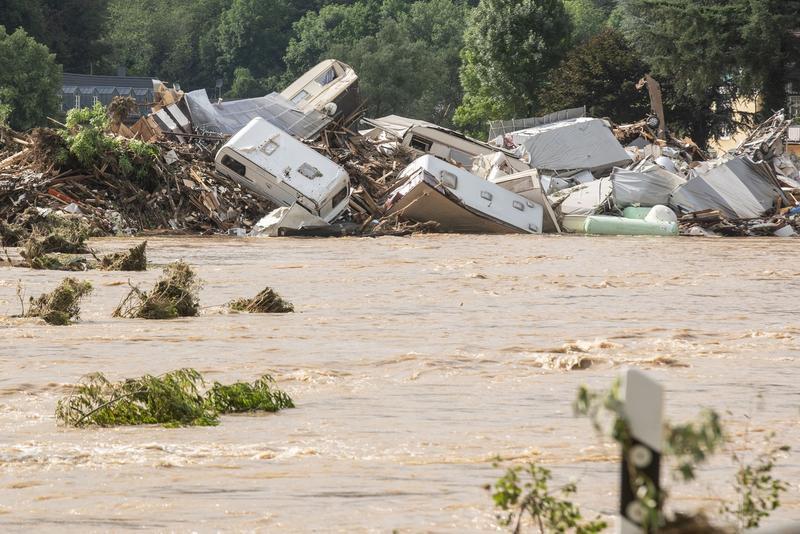 Bilanțul morților a ajuns la 170, în urma inundațiilor devastatoare din Europa (Foto: Hotnews)