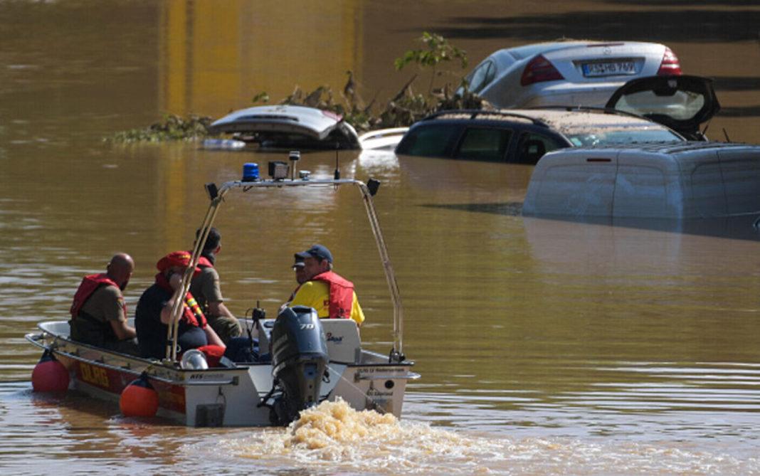 Bilanțul inundațiilor devastatoare din Germania: 165 de morți