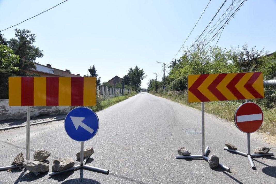 Restricții de circulație pe DN 64, la Stolniceni