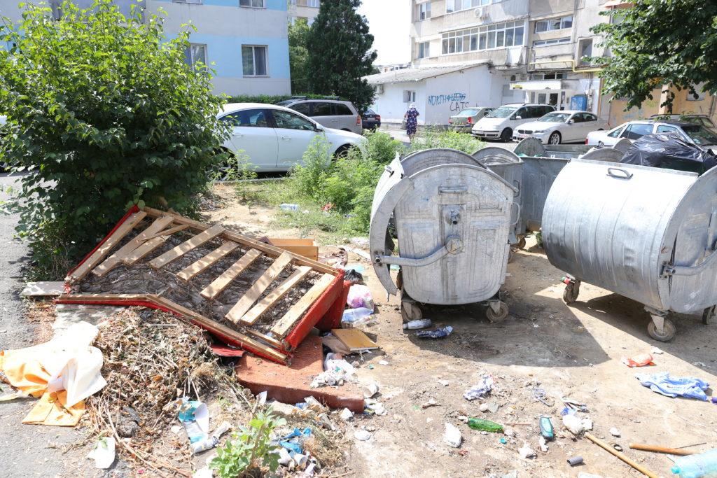 Platformă de gunoi în Craiovița Nouă/ foto: Claudiu Tudor
