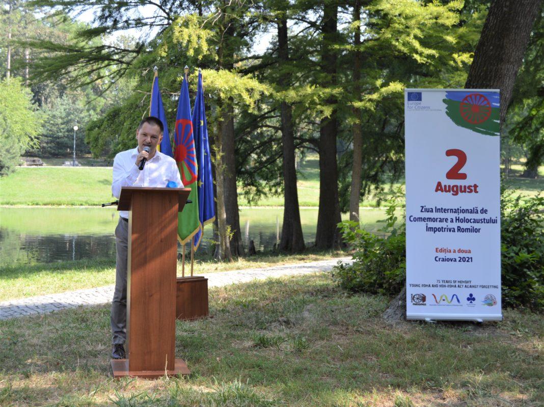 """Preşedintele CJ Dolj, Cosmin Vasile, de Ziua Holocaustului împotriva romilor: """"Cei care își uită trecutul sunt condamnați să-l repete"""""""