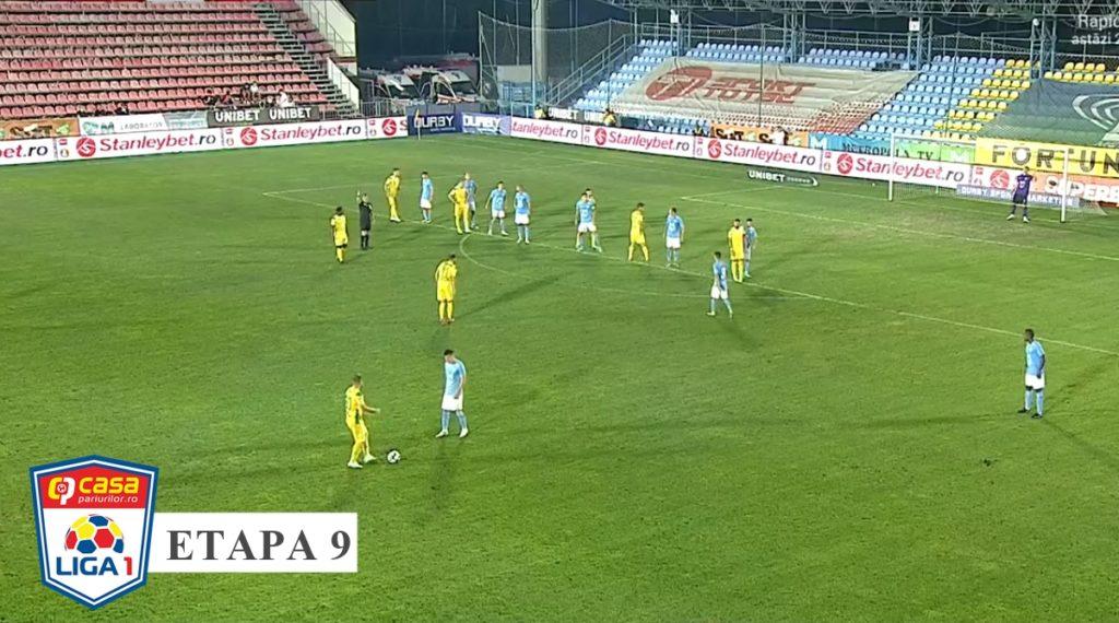 Liga 1 / FC Voluntari – CS Mioveni 4-0. Ilfovenii s-au descătușat în repriza secundă
