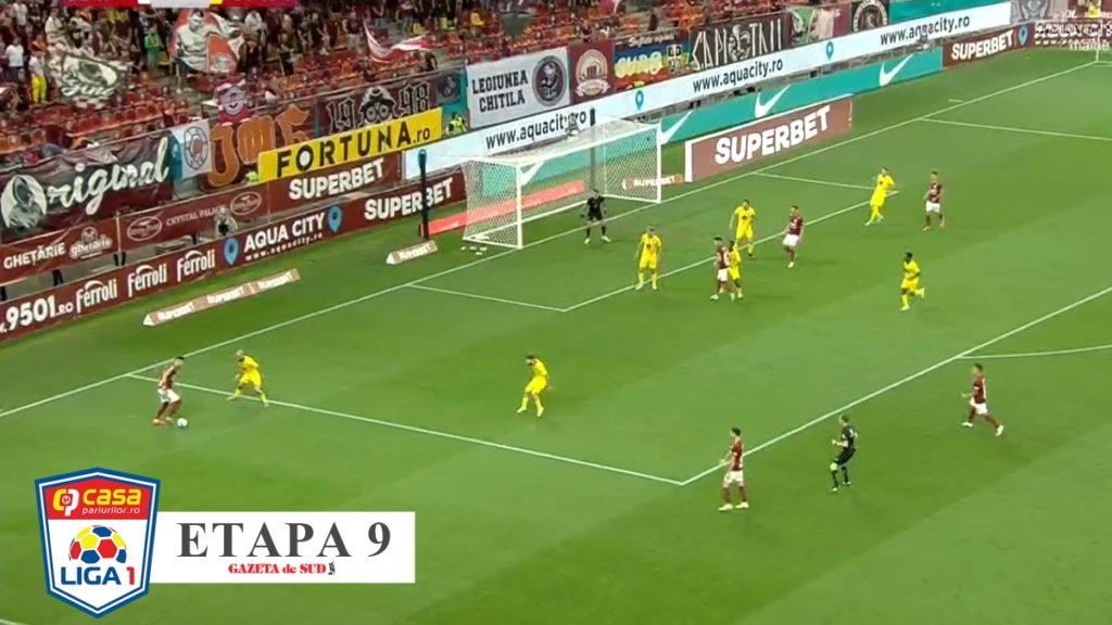 Liga 1 / Rapid – Mediaș 1-2. Giuleștenii, neputincioși în atac