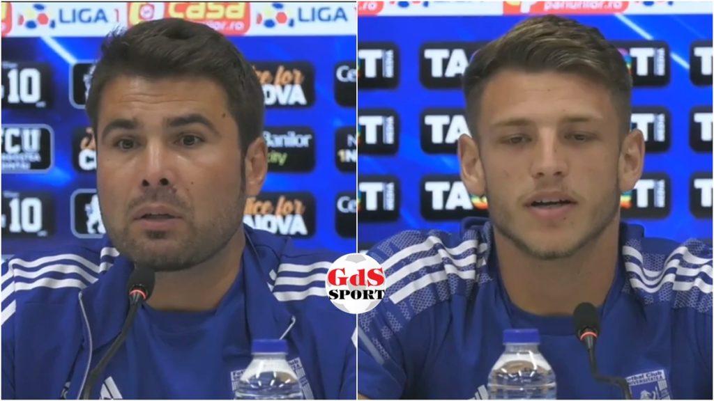 FCU Craiova – FCSB / Adrian Mutu și Dragoș Albu promit revirimentul (VIDEO)