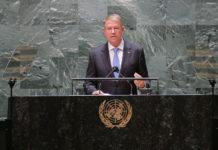 Intervenția națională a Președintelui României, Klaus Iohannis, susținută în cadrul dezbaterilor generale ale celei de-a 76-a sesiuni a Adunării Generale a Organizației Națiunilor Unite